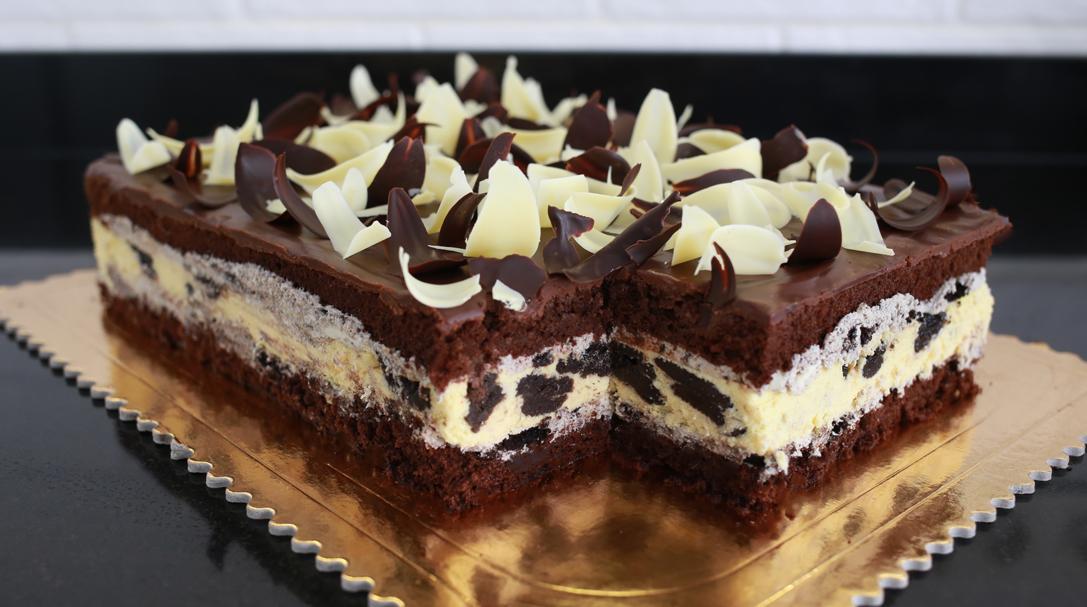 orchideli, przepis na ciasto oreo, ciasto dla dzieci , ciasto z oreo, ciasto czekoladowe, na komunię, tort urodzinowy dla dziecka, przepis na tort