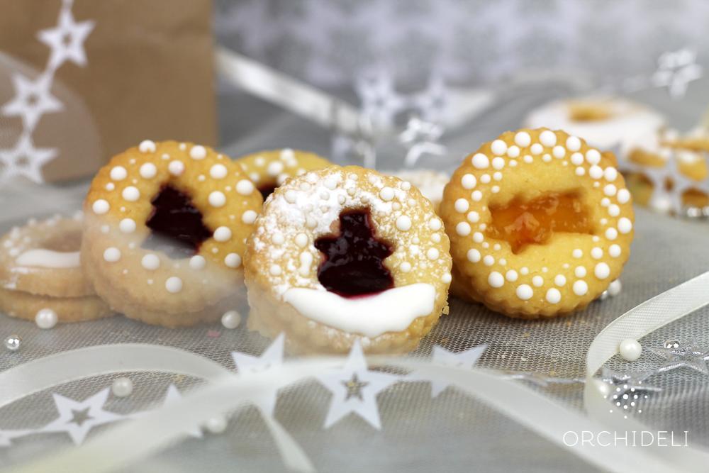 Świąteczne kruche ciasteczka, kruche ciasteczka świąteczne przekładane dżemem