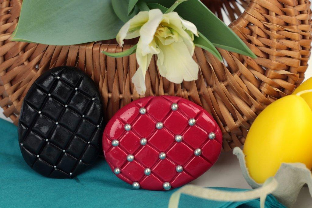 orchideli - ciasteczka do wielkanocnego koszyczka - pisanki glamour