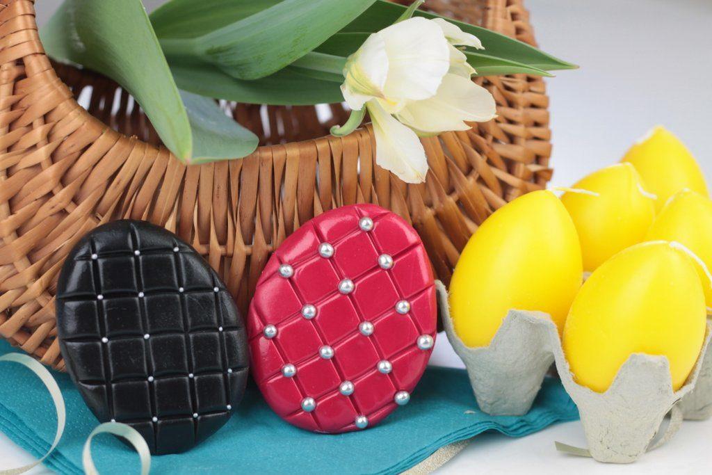 orchideli ciasteczka do wielkanocnego koszyczka - pisanki glamour