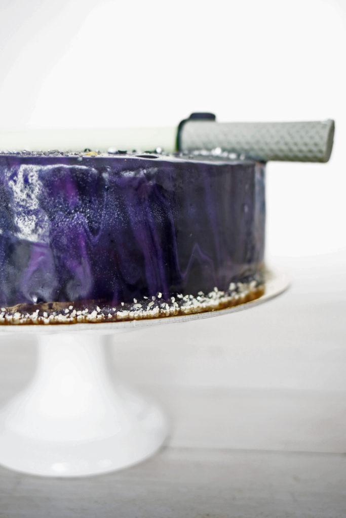 star wars galaktyczny tort monte orchideli polewa lustrzana mirorr glaze
