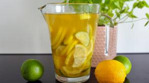 orchideli, lemoniada, przepis na domową lemoniadę, jak zrobić domową lemoniadę, lemoniada na słodki stół