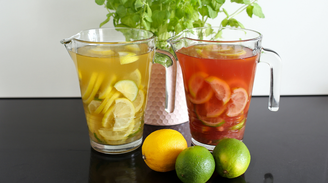 orchideli, domowa lemoniada, przepis na domową lemoniadę, jak zrobić domową lemoniadę, lemoniada na słodki stół, lemoniada