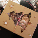 Świąteczne pudełka orchideli
