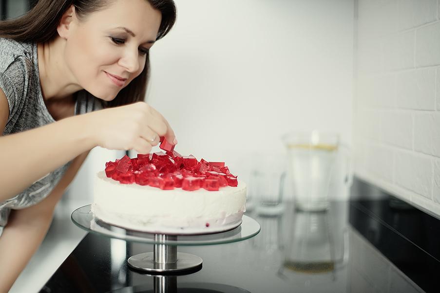 Orchideli pokazuje jak dekorować torty