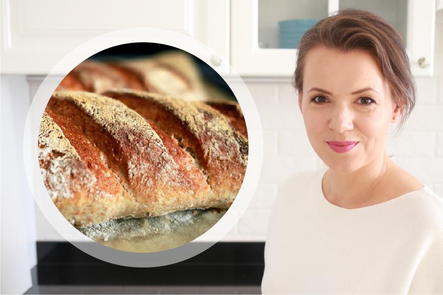 Jak upiec chrupiący chleb bez wyrabiania