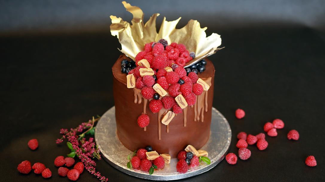 orchideli, tort urodzinowy dla mężczyzny