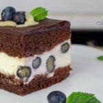 orchideli przepis na czekoladowe ciasto kropek z borówkami dla dzieci