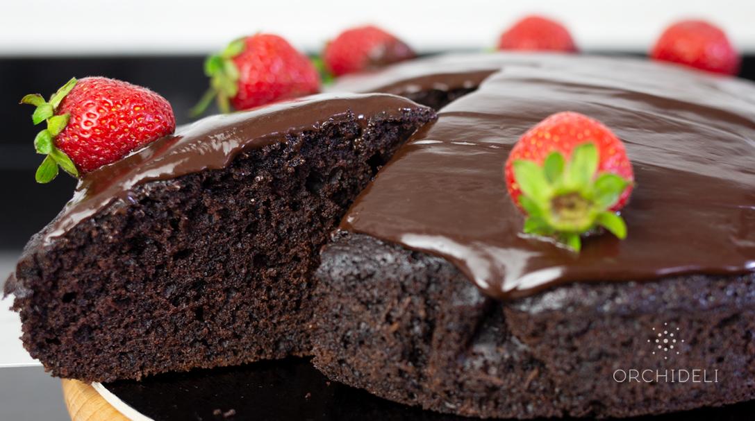 proste ciasto czekoladow z cukinią prosty przepis orchideli 04
