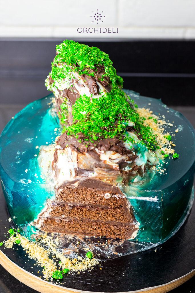jak zrobić tort ocean orchideli przepis na tort urodzinowy