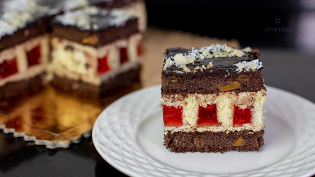 przepis na ciasto na komunię, ciasto na stół, ciasto na święta orchideli