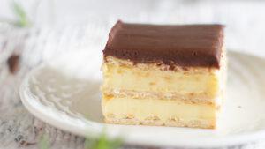 ciasto bez pieczenia czekoladowa eklerka orchideli